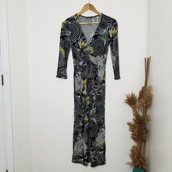 Planet | Twist Front V Neck Maxi Dress Size 6